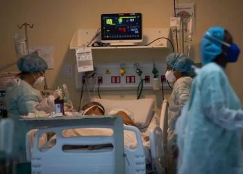 Leitos de UTI no Hospital Ronaldo Gazzola, na zona norte do Rio de Janeiro, durante pandemia da Covid-19 Foto: Wilton Júnior