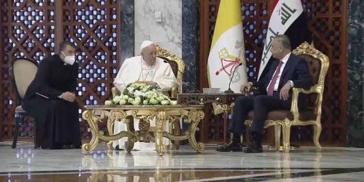 Papa Francisco faz visita histórica ao Iraque; pela primeira vez um pontífice vai ao país Foto: Reprodução