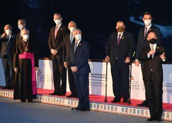 Presidentes latino-americanos e europeus em Soldeu, Andorra