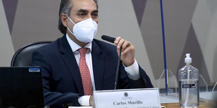 Gerente-geral da farmacêutica Pfizer na América Latina, Carlos Murillo