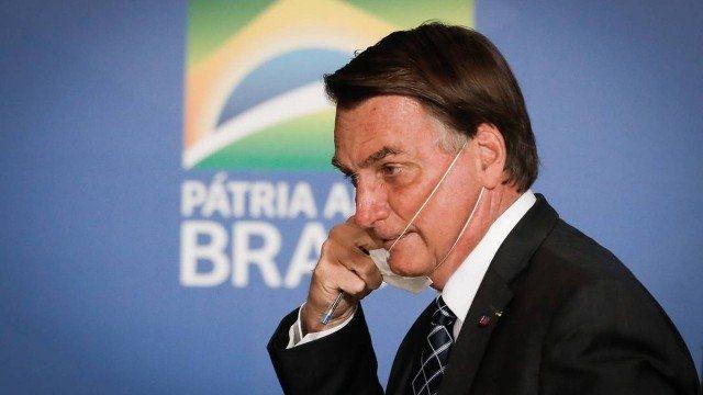 O presidente Jair Bolsonaro Foto: Pablo Jacob