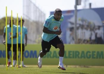 Malcom não vai mais defender a seleção brasileira nesta data Fifa — Foto: Lucas Figueiredo