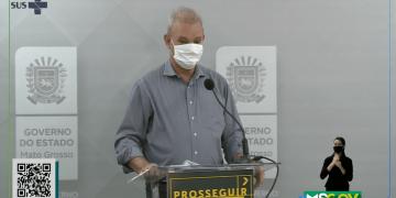 Secretário de Estado de Saúde, Geraldo Resende