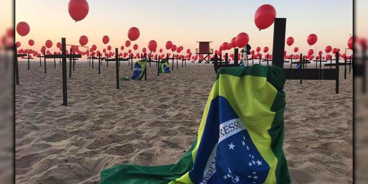 A primeira morte oficial associada à covid-19 no Brasil foi a de uma mulher de 57 anos