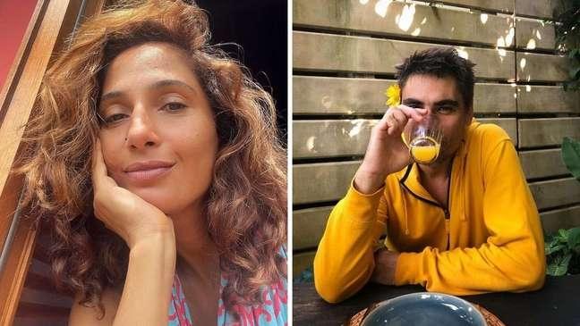 A atriz estava solteira desde dezembro de 2020, quando terminou com a artesã Beatriz Coelho. Foto: Instagram: @caiapitanga