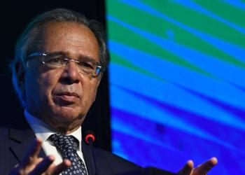 O ministro da Economia, Paulo Guedes Foto: Edu Andrade