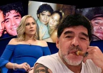 Na época do romance sigiloso com Mavys, Maradona era casado e tinha 41 anos Foto: Reprodução