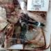 Restos de peixe sendo vendidos em supermercado no Pará Foto: Reprodução